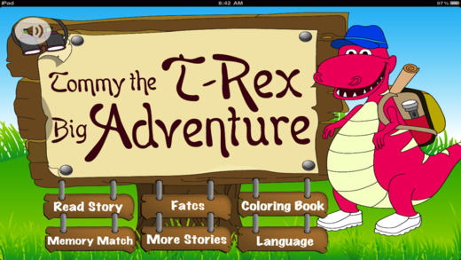Tommy the T-Rex Big Adventure Free - Story of My Lost World of Dinosaurs