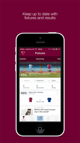 Fan App for Aston Villa FC|玩運動App免費|玩APPs