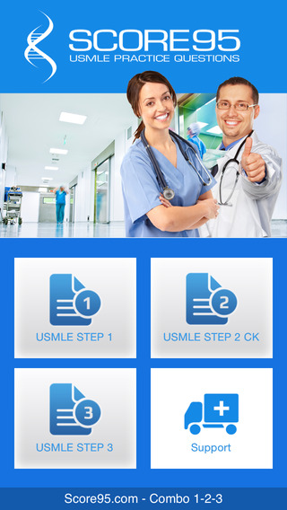Score95.com - USMLE STEP 1 STEP 2 CK and STEP 3 Practice Questions