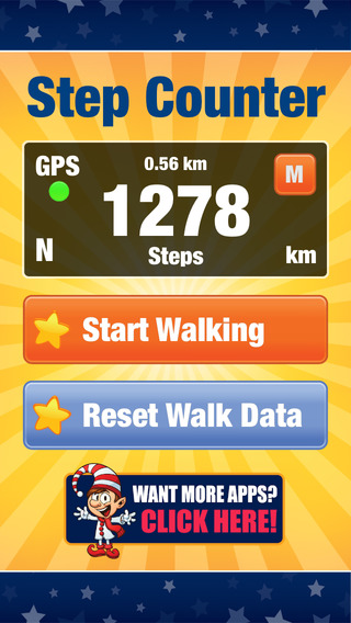 Step Counter Pedometer - Steps Tracking for Walking Running Hiking