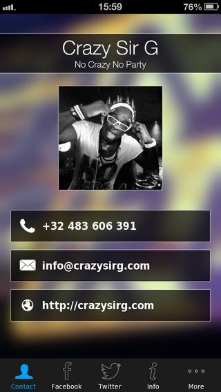 【免費商業App】Crazy Sir G-APP點子