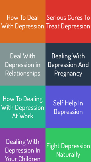 Deal With Depression - Ultimate Guide