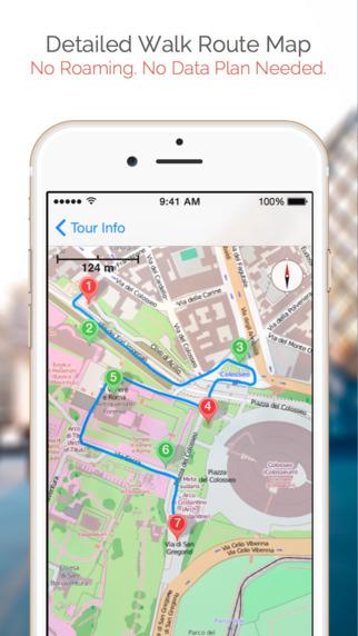 City Center Walking Tour iPhone Screenshot 2