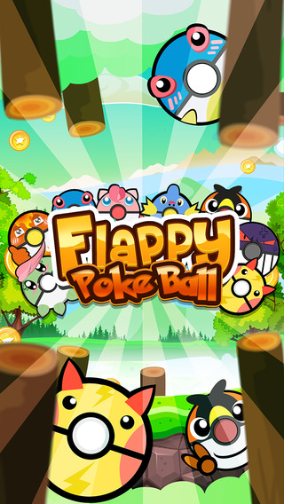 """Flappy PokeBall and Dash : """" Flying Monster Adventure Original Edition """""""