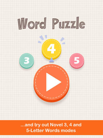 玩免費遊戲APP|下載Word Puzzle: Three Four Five Letters app不用錢|硬是要APP