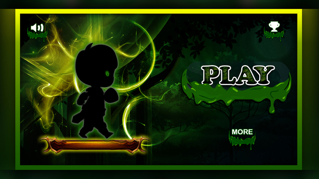 Alien Walk on Green Wonderland : The Dark Forest World Pro