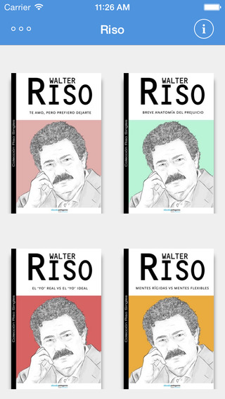 Walter Riso - free ebooks from Riso's Digital Library singles collection