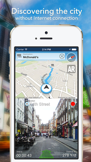Berlin Offline Map + City Guide Navigator Attractions and Transports
