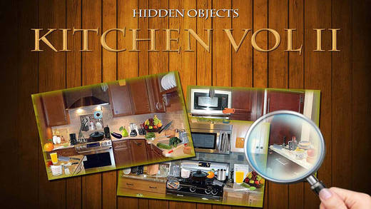 Hidden Objects Find things in Kitchen: Vol 2