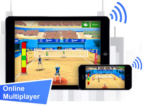 Screenshots of Volleyball Champions 2014 for iPad