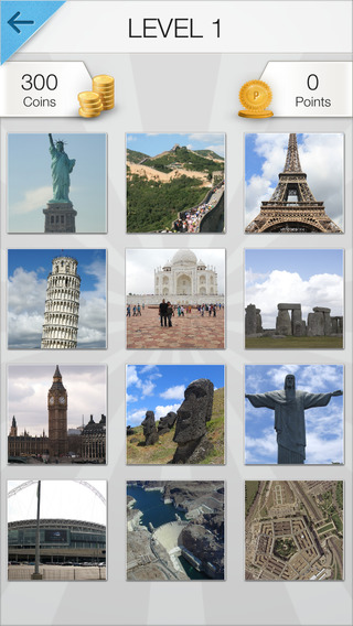 Word Pic Quiz World Travel - How May Famous International Places Can You Name