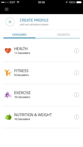 Fit Calc: Fitness calculator to help you with full body analysis