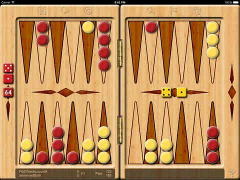 Backgammon Online 2 iPad Screenshot 3