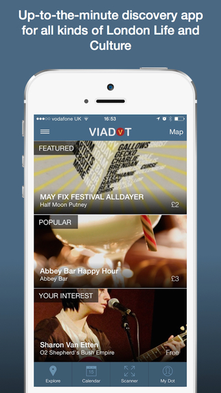 VIADOT London - Up to Date Interactive Guide