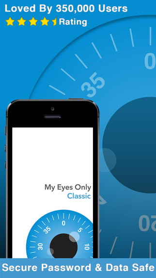 My Eyes Only® Classic - Secure Data Manager