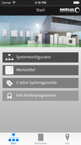 BRÖTJE Systemkonfigurator