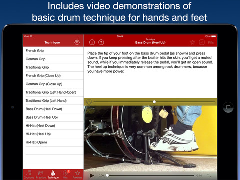 Drum School iPad Screenshot 2