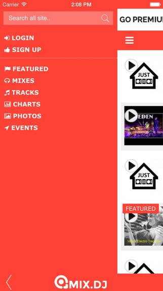mix.dj Lite iPhone Screenshot 4