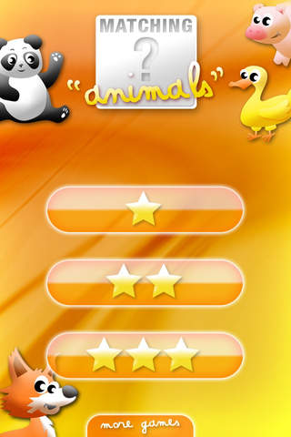 Screenshot 2 Animals' Matching for Kids - Memory Game