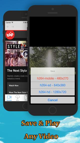 iBlipTV: Free Video Downloader iDownloader TubeMate for blip.tv