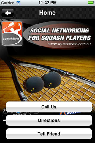 SquashMate screenshot 1