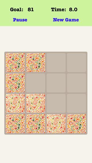 Color Blind² Treble 4X4