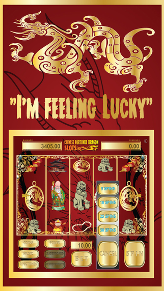 Chinese Fortune Dragon Slots 777 - Deluxe Casino Slot Machine and Bonus Games FREE