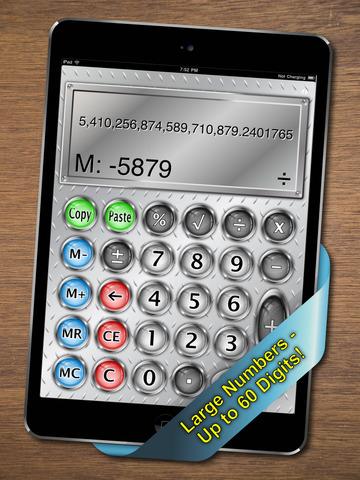 Split View Calculator for iPad screenshot 4