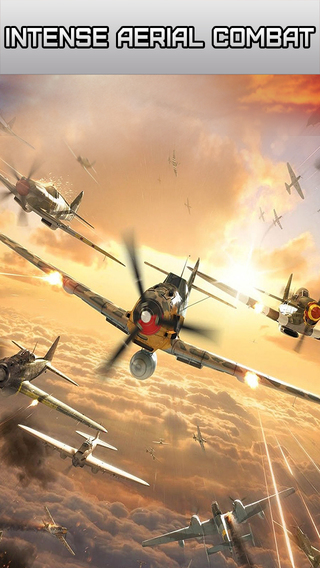 Jet Fighter Aerial Combat On Sky - Air Attack To Defend Your Country