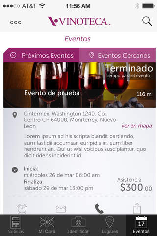 Vinoteca México screenshot 3