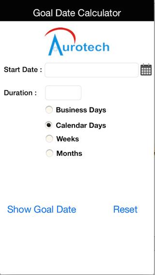 Goal Date Calculator