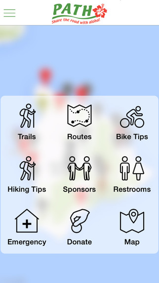 PATH Big Island of Hawaii Hiking and Biking Map