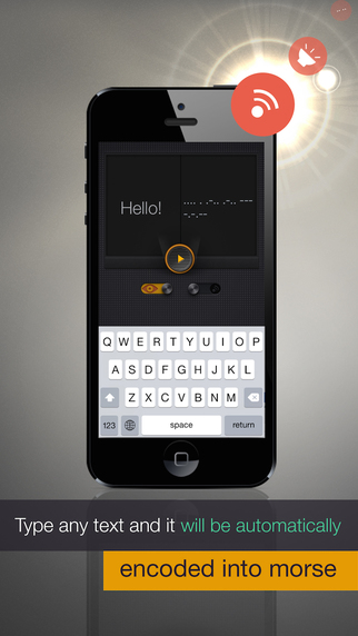 MORSE Light PRO - handy morse code encoder and tra