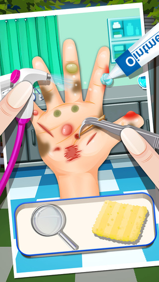 Doctor™ - Messy Hands games