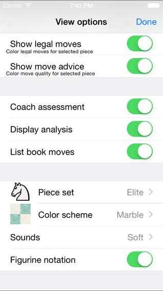HIARCS Chess iPhone Screenshot 5