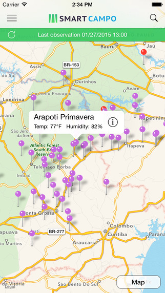 Smart Campo - Agrometeorological Monitoring