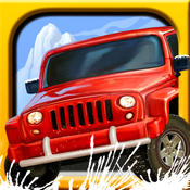 休闲游戏 – 雪地越野 [iOS]