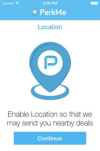 PerkMe App screenshot 3