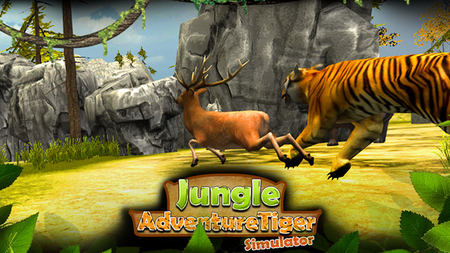 Jungle Adventure Tiger Simulator 3D - Amazon Deadly Beast Animals Hunting Attack Simulation