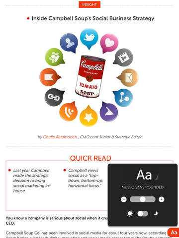business strategy for campbell soup