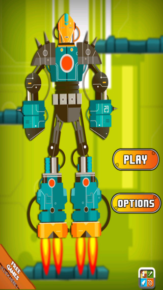Jumping Robot Invasion - Iron Launch Escape Challenge Paid
