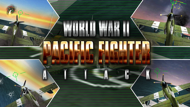 World War II Pacific Fighter Attack 3D - Take off from Aircraft Carrier Fly high in the Sky to defea