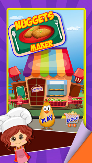 Nuggets Maker – Preschool fast food cooking game and free fried chicken invaders