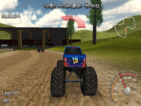 Monster Truck Lite iPad Screenshot 2