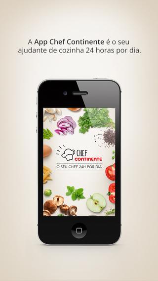 Continente - Chef Online iPhone Screenshot 1