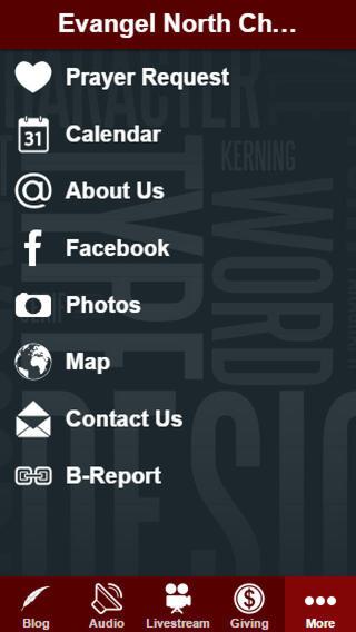 Evangel North Church app