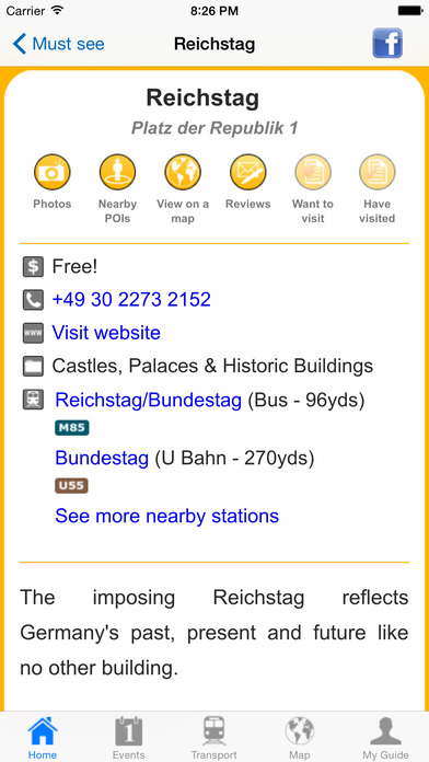 Berlin Travel Guide Offline iPhone Screenshot 4