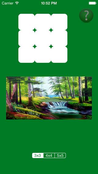 Jigsaw Puzzle Scenery