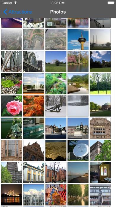 Dusseldorf Travel Guide Offline iPhone Screenshot 2