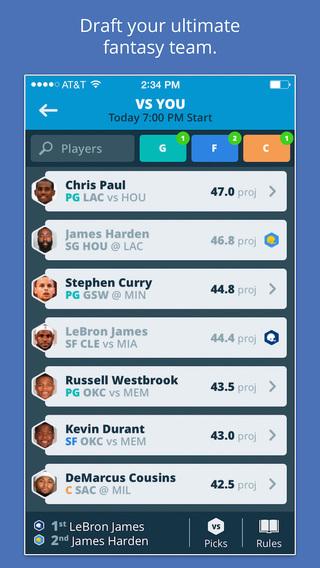 Draft - One Day Fantasy Sports Drafts: Basketball Baseball Football Hockey and More